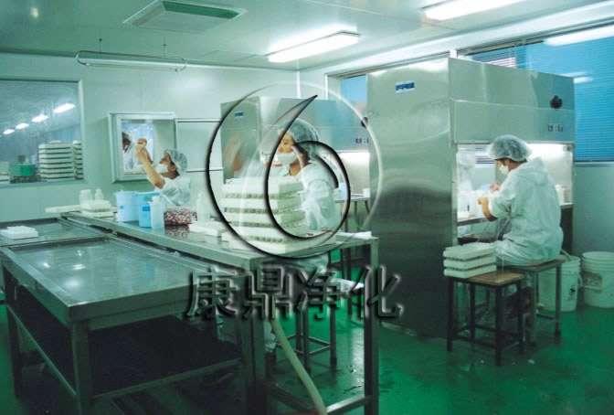 饮用水桶生产车间