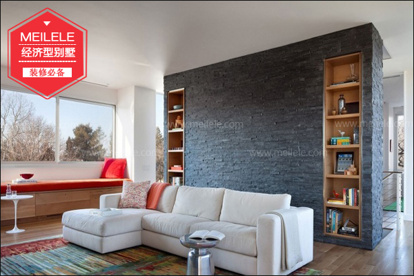 经济型别墅装修一   本项目位于成都市,占地面积约合380平