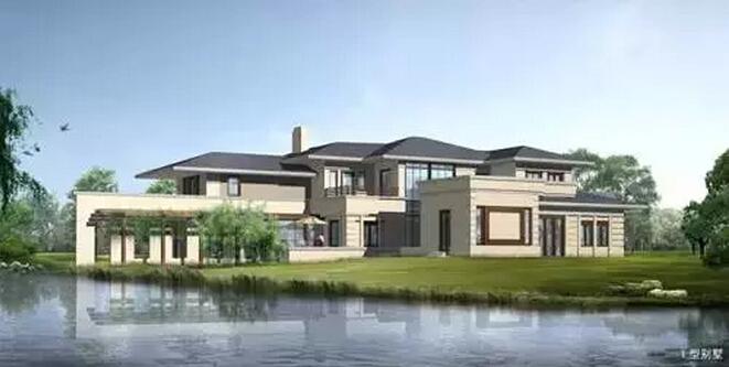 占地1000多亩,总建筑面积约15万方,由172幢高级别墅和一个游艇国际萨伏伊别墅1:50图片